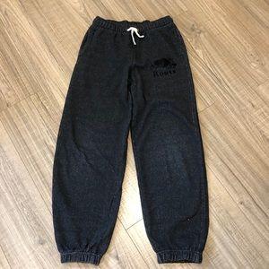 Roots sweat pants, size 10